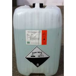 Hidrogén-peroxid  35 % technikai 20kg-os kannában ár% 1 kg