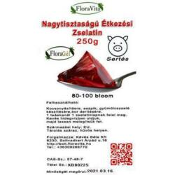 Zselatin FloraGél 80-100 bloom 250 g Nagy tisztaságú étkezési